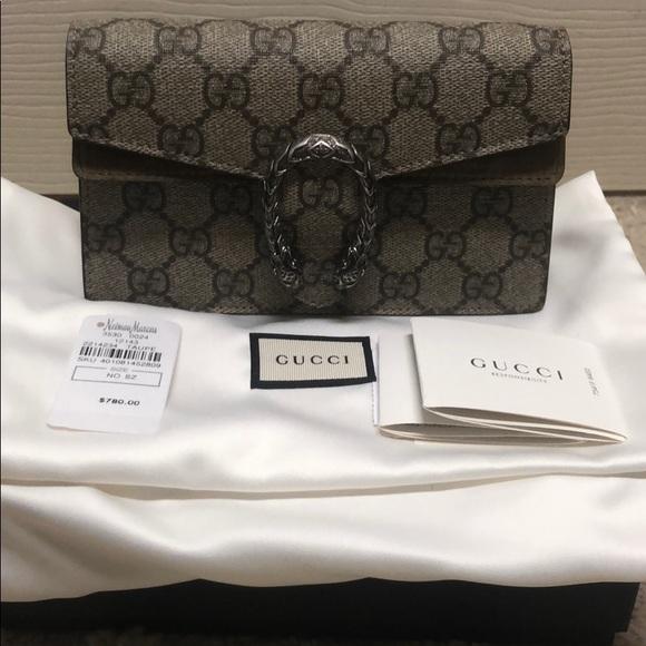 68c5d211a1d Gucci Handbags - Gucci super min Dionysus bag taupe